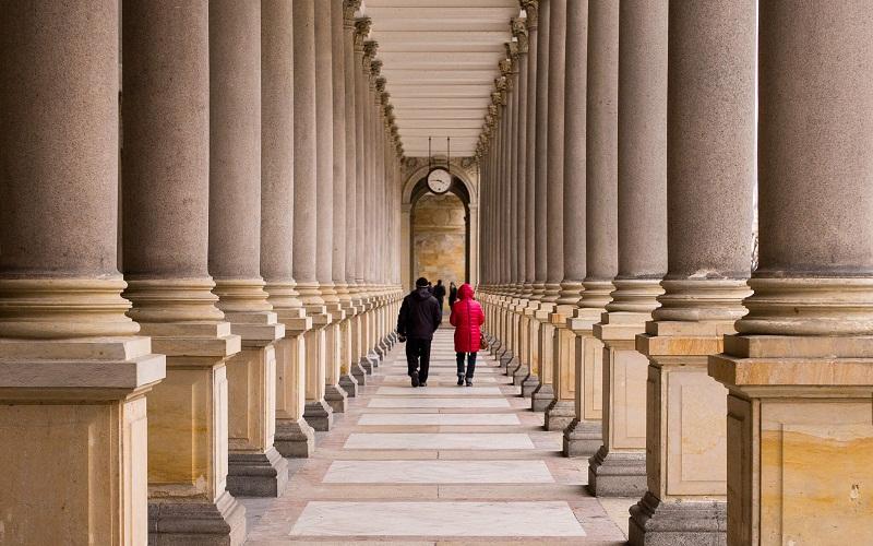 Фото: Млынская колоннада - Достопримечательности Карловых Вар: ТОП-10