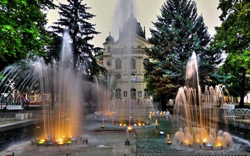 Фото: Поющий фонтан - Достопримечательности Кошице: ТОП-10