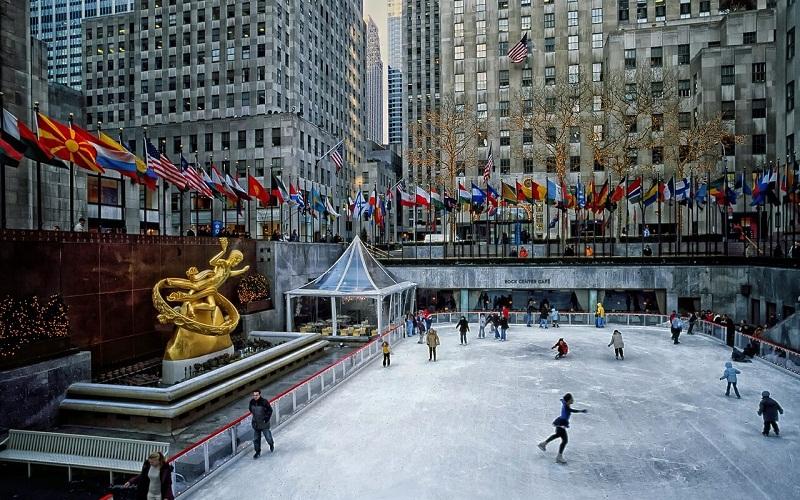 Фото: Рокфеллер-центр - Достопримечательности Нью-Йорка: ТОП-15