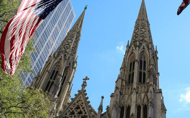 Фото: Собор Святого Патрика - Достопримечательности Нью-Йорка: ТОП-15