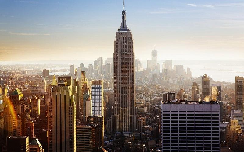 Фото: Эмпайр Стэйт Билдинг - Достопримечательности Нью-Йорка: ТОП-15