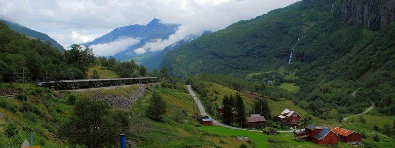 Фото: Фломская железная дорога, Норвегия - обзор, как добраться, лайфхаки