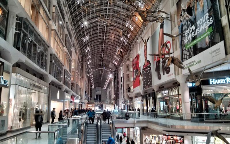 Фото: Итон Центр - Достопримечательности Торонто: ТОП-12