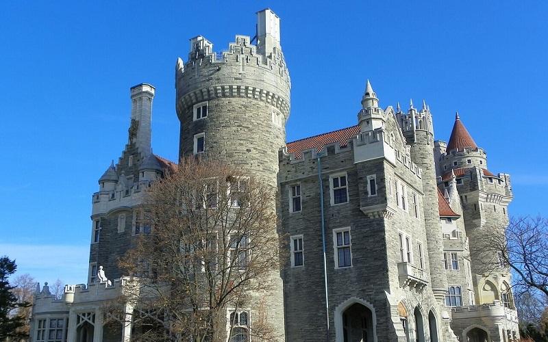 Фото: Замок Каса Лома - Достопримечательности Торонто: ТОП-12
