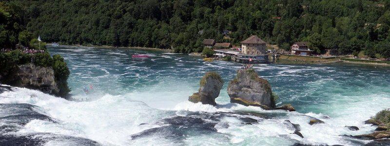 Фото: Рейнский водопад, Швейцария - обзор, как добраться, лайфхаки