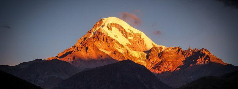 Фото: Гора Казбек, Грузия - путеводитель, как добраться, лайфхаки