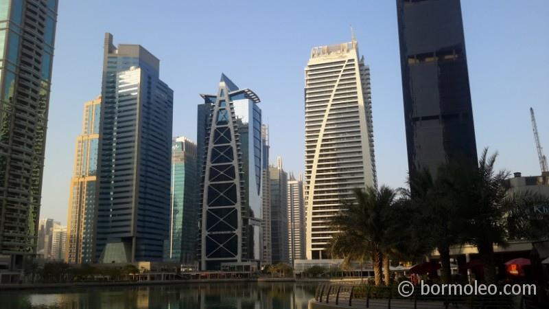 Фото: Дубай Марина и Джумейра Лейк Тауэрс